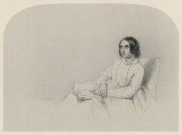 Miss Thurston, by Richard James Lane - NPG D22287
