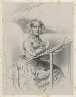 Mrs Turnbull, by Richard James Lane, after  Frederick Tatham - NPG D22292