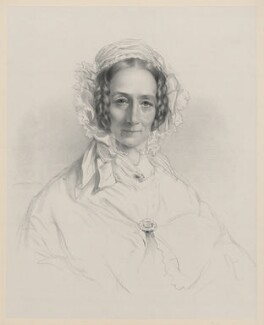 Mary Dawson Turner (née Palgrave), by Richard James Lane, after  Elizabeth (née Rigby), Lady Eastlake - NPG D22293