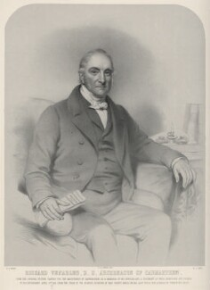 Richard Venables, by Richard James Lane, printed by  M & N Hanhart, after  Eden Upton Eddis - NPG D22296