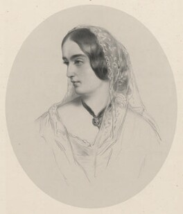 Emma (née Herbert), Viscountess de Vesci, by Richard James Lane, after  James Rannie Swinton - NPG D22297