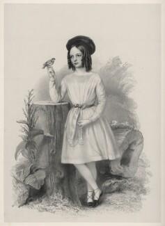 Miss Wormald, by Richard James Lane - NPG D22303