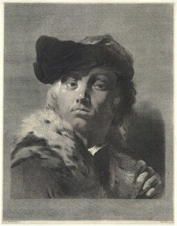 Giuseppe Nogari, by Marco Alvise Pitteri, after  Giovanni Battista Piazzetta, probably 1740s - NPG D22310 - © National Portrait Gallery, London