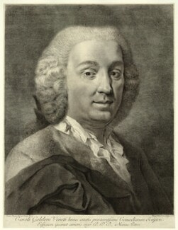 Carlo Goldoni, by Marco Alvise Pitteri, after  Giovanni Battista Piazzetta - NPG D22311