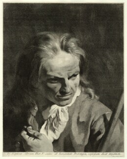 Giambattista Albrizzi, by Marco Alvise Pitteri, after  Giovanni Battista Piazzetta - NPG D22313
