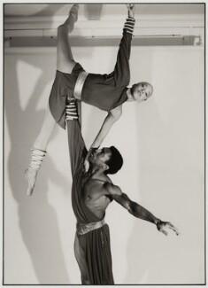 Judy Tyrus; Eddie Shellman, by Liam Woon - NPG x126954