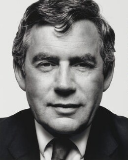 Gordon Brown, by Platon Antoniou - NPG P1089