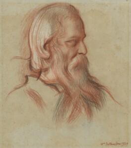 Rabindranath Tagore, by William Rothenstein - NPG 6697