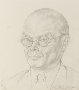John Rothenstein, by Sir Stanley Spencer - NPG 6695