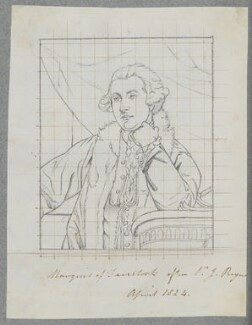 Francis Russell, Marquess of Tavistock, by Henry Bone, after  Sir Joshua Reynolds - NPG D17211