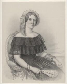 Unknown woman, by Richard James Lane - NPG D22483