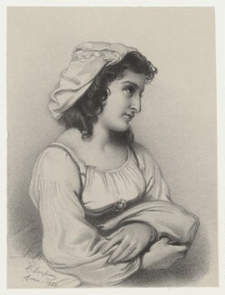 Unknown woman, by Richard James Lane, possibly after  Roberto Bompiani - NPG D22487