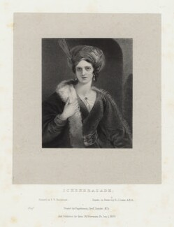 'Scheherazade', by Richard James Lane, printed and published by  Engelmann, Graf, Coindet & Co, after  Frederick Yeates Hurlstone - NPG D22511