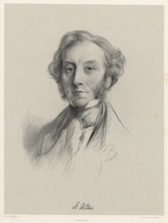 Richard Watson, by Richard James Lane, printed by  M & N Hanhart, after  E. Boxall - NPG D22519