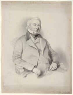 Mr Cavan, by Richard James Lane, after  Josiah Gilbert - NPG D22528