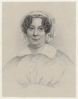 Jane Griffin (née Cornwallis), Lady Braybrooke, by Richard James Lane, after  Eden Upton Eddis - NPG D22535