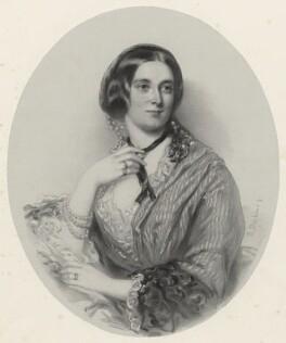 Elizabeth Helen Barkly (née Timins), by Richard James Lane, after  Richard Buckner - NPG D22538
