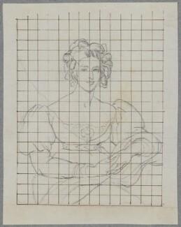 Sarah Garay Copley (née Brunsden), Lady Lyndhurst, by Henry Bone, after  Sir Thomas Lawrence - NPG D17219