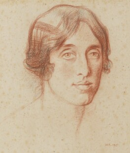 Vita Sackville-West, by Sir William Rothenstein, 1925 - NPG 6716 - © National Portrait Gallery, London