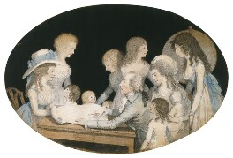 The Edgeworth Family, by Adam Buck, 1787 - NPG  - Estate of Michael Butler; photograph © National Portrait Gallery, London
