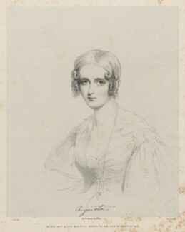 Augusta Champagne Law (née Graves), by Richard James Lane, printed by  M & N Hanhart, after  Joseph Slater - NPG D22344