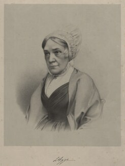 Lucy Aggs, by Richard James Lane, circa 1853 - NPG D22346 - © National Portrait Gallery, London
