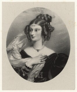 Miss Beresford, by Richard James Lane, after  Alfred Edward Chalon - NPG D22349