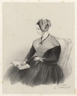 Marguerite, Countess of Blessington, by Richard James Lane, after  Alfred, Count D'Orsay - NPG D22351