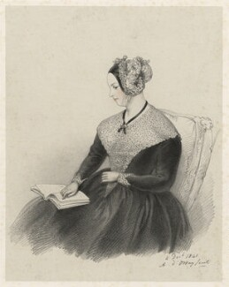 Marguerite, Countess of Blessington, by Richard James Lane, after  Alfred, Count D'Orsay - NPG D22352