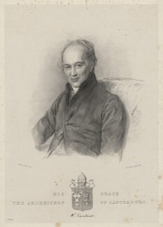 William Howley, by Maxim Gauci, after  Sir William Charles Ross - NPG D22355