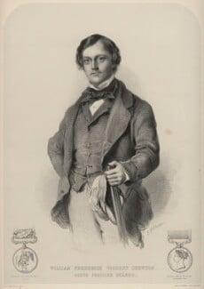William Frederick, Viscount Chewton, by Richard James Lane, printed by  M & N Hanhart, after  Josiah Gilbert - NPG D22357