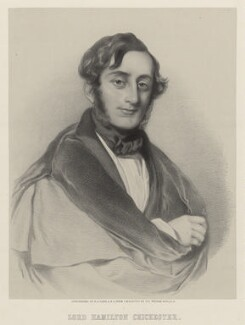 George Hamilton Chichester, 3rd Marquess of Donegall, by Richard James Lane, after  Sir William Charles Ross, 1854 - NPG D22358 - © National Portrait Gallery, London