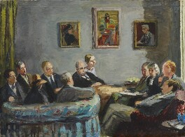 The Memoir Club, by Vanessa Bell (née Stephen) - NPG 6718