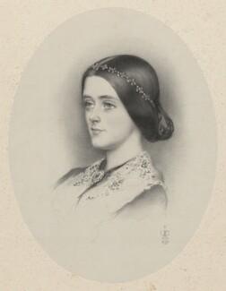 Henrietta Anne Theodosia (née Vyner), Marchioness of Ripon, by Richard James Lane, after  Sir John Everett Millais, 1st Bt - NPG D22363