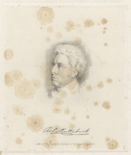 Robert Clutterbuck, by William Bond, after  William Henry Hunt - NPG D22365