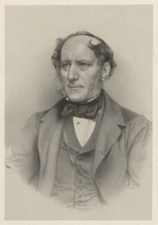 Dr Joseph Barnard Davis, by Richard James Lane - NPG D22371