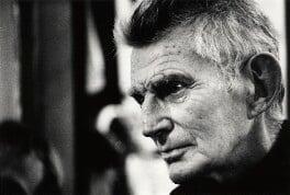 Samuel Beckett, by John Minihan - NPG x28991