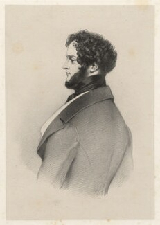 Alfred, Count D'Orsay, by Richard James Lane - NPG D22375