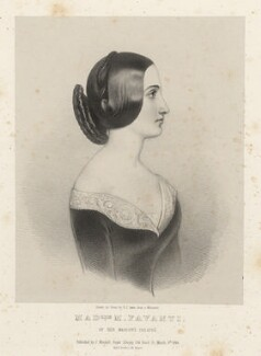 M. Favanti, by Richard James Lane, printed by  M & N Hanhart, published by  John Mitchell, published 9 March 1844 - NPG D22381 - © National Portrait Gallery, London
