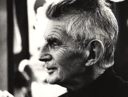 Samuel Beckett, by John Minihan - NPG x28993