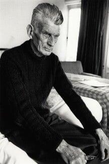 Samuel Beckett, by John Minihan, 1980 - NPG x32122 - © John Minihan / National Portrait Gallery, London
