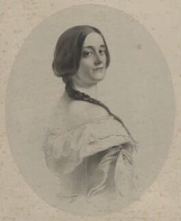 Margaret Lauretta Butler (née Mellish), Countess of Glengall, by Richard James Lane - NPG D22383