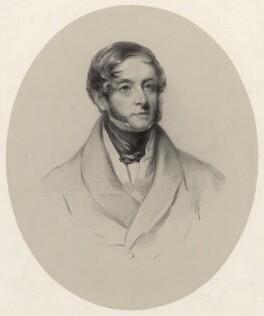 Richard Butler, 2nd Earl of Glengall, by Richard James Lane - NPG D22384