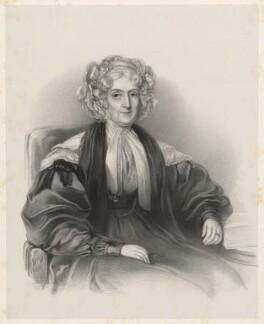 Mrs Grose (?), by Richard James Lane - NPG D22386