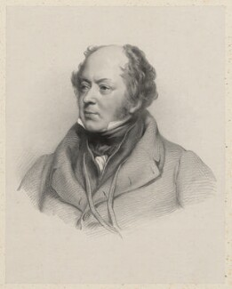 Sir Josiah John Guest, 1st Bt, by Richard James Lane, after  Jacob Thompson - NPG D22387