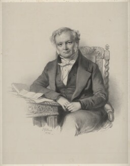 Mr Jarratt, by Richard James Lane, after  Josiah Gilbert - NPG D22396