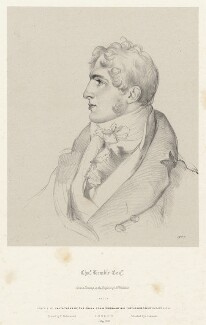 Charles Kemble, by Richard James Lane, printed by  Charles Joseph Hullmandel, published by  Joseph Dickinson, after  Sir Thomas Lawrence - NPG D22400