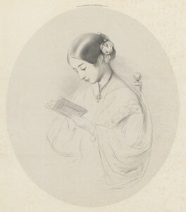 Florence Nightingale, by Richard James Lane, printed by  Day & Son, published by  Paul and Dominic Colnaghi & Co, after  Joanna Hilary Bonham Carter, after  John Pinches - NPG D22404