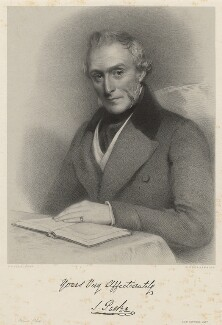Mr Parkes or Parker, by Richard James Lane, printed by  M & N Hanhart, after  Eden Upton Eddis - NPG D22405