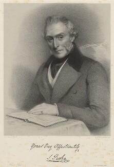 Mr Parkes or Parker, by Richard James Lane, printed by  M & N Hanhart, after  Eden Upton Eddis - NPG D22405